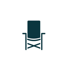 Chair icon simple vector