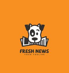 Fresh news logo vector