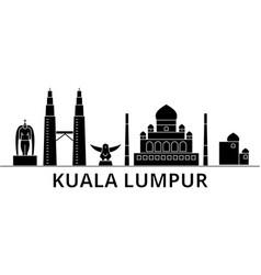 Kuala lumpur malaysia architecture ci vector