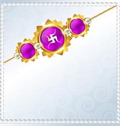 Rakhi background vector