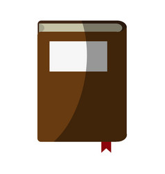 Reading book separator vector