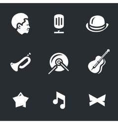 Set of Jazz Music vector