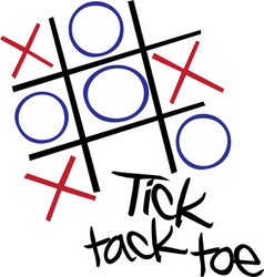 Tic Tac Toe vector