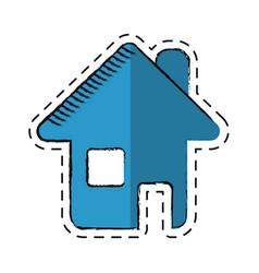 cartoon home page web symbol vector image