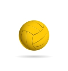 Water polo ball logo for the team and the cup vector image vector image