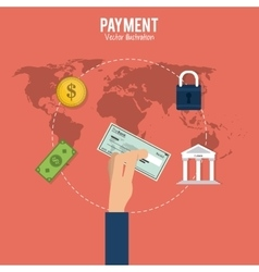 Payment and Money design vector image vector image