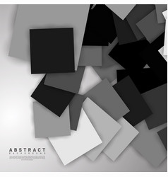 abstract background overlapping square design new vector image