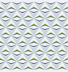 abstract seamless pattern triangle elements vector image