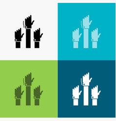 Aspiration business desire employee intent icon vector