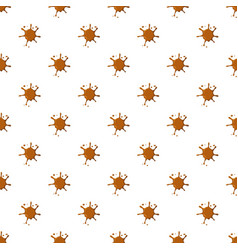 Caramel spatter pattern vector