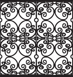 Forged seamless pattern vector