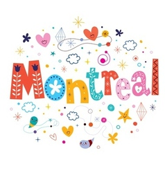 Montreal vector