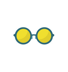 simple stylish eyeglasses vector image