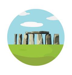 stonehenge icon isolated on white background vector image