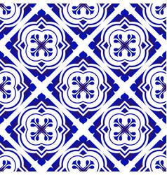 tile pattern background design vector image