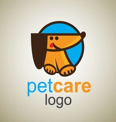 pet care logo 5 vector image