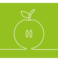 apple fresh design vector image