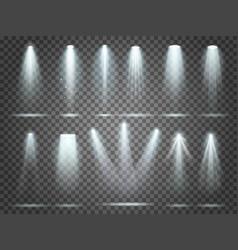Beam floodlight illuminators lights stage vector