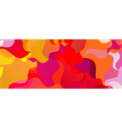 Colorful background Polygonal colorful brazilian vector
