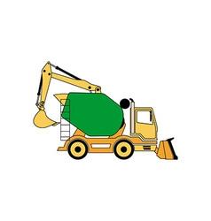Construction Machine 380x400 vector image