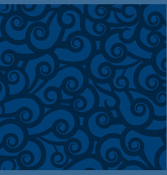dark indigo blue background with abstract pattern vector image