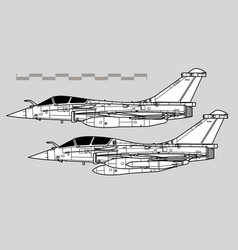 Dassault rafale vector