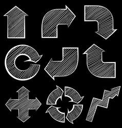 Different symbols vector