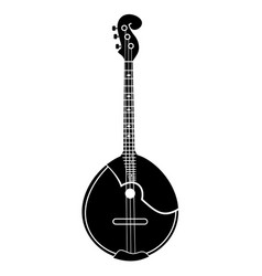 domra stringed musical vector image