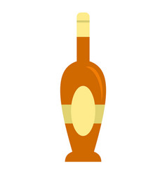 Holiday bottle icon isolated vector