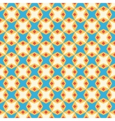 Retro kid seamless pattern Endless texture vector image