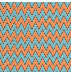 Seamless pattern with zig zag vector image