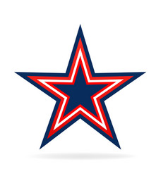 vibrant star icon vector image