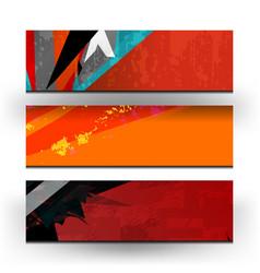 banner background design vector image