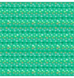 Colorful seamless thread pattern vector image