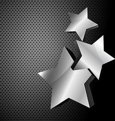 dark metallic background vector image