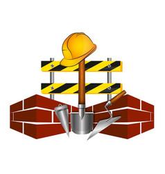under construction symbol vector image