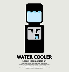 Water Cooler Graphic vector image
