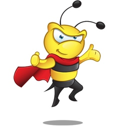 Super Bee Presenting vector image vector image