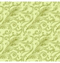 Seamless twirl Pattern vector image