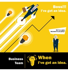 Business Idea series Business Team 3 concept vector