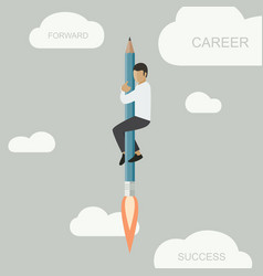 Career background template vector