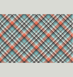 Geometric checkered plaid pixel seamless pattern vector