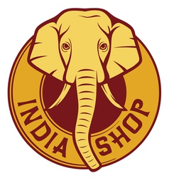 India shop vector
