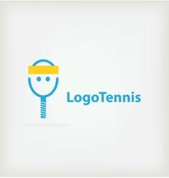 Logo for tennis vector