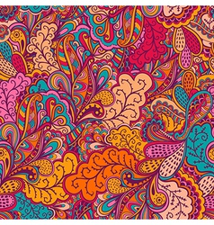 Ornamental lace pattern background with many vector