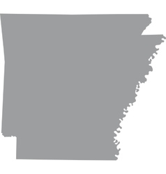 Us state arkansas vector