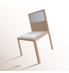 volumetric stool vector image
