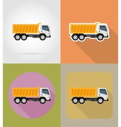 transport flat icons 22 vector image vector image