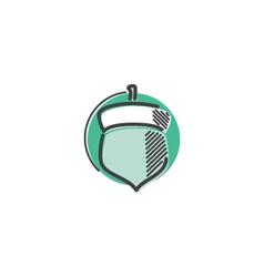 Acorn Icon vector