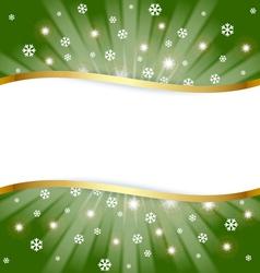 Christmas document template vector